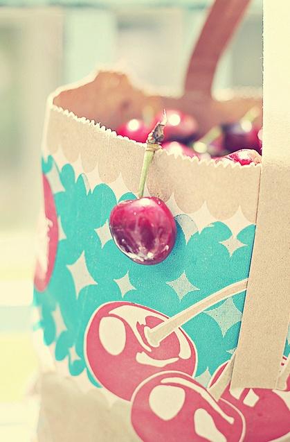 Bag of Summer Cherries!
