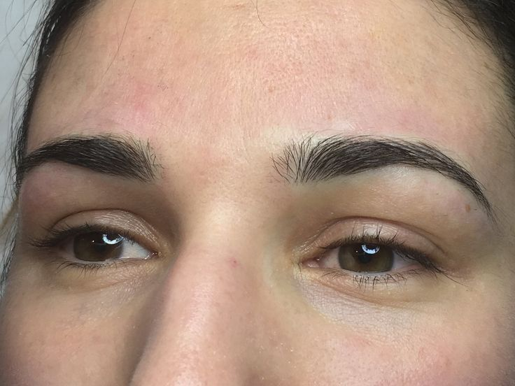 When healed these beautiful brows will be fluffy at the front and denser more along the rest of the brow!   Visit www.sarahcatherinecosmetics.com?utm_content=buffer3548a&utm_medium=social&utm_source=pinterest.com&utm_campaign=buffer for more Microblading info