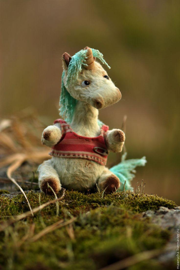 Unicorn Teddy Toy | Купить Единорожка Зефирка.Друзья Тедди - единорог, сказочные существа, зефирка, авторская игрушка