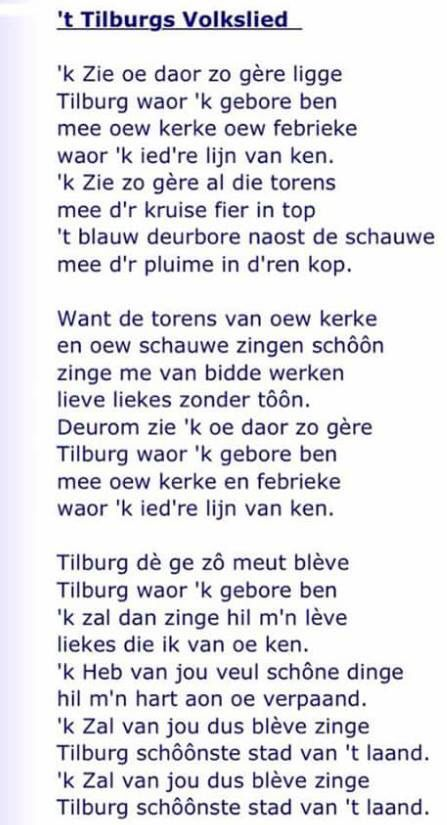 Tilburgs