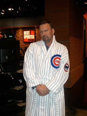 What a great Father's Day Gift!  Chicago Cubs Authentic Unisex Team Color Robe $189.95 @Chicago Cubs @Iowa Cubs