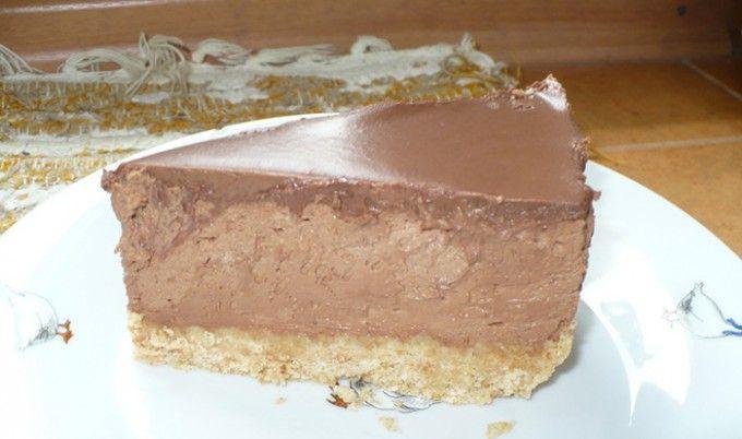 Čokoládový cheesecake s mascarpone | NejRecept.cz