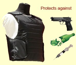 21th Century Robo Bulletproof Vest -IIIA