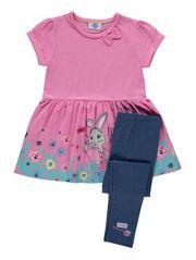 Peter Rabbit Lily Bobtail Dress and Leggings Set