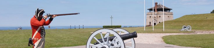 The history of Old Fort Niagara spans more than 300 years. The fort was occupied by three nations: France, Great Britain, and the United States