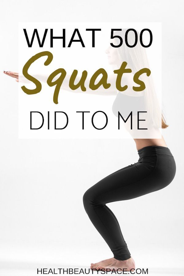 What 500 Squats Did To Me | Workouts | Leg workout at home, Bikini