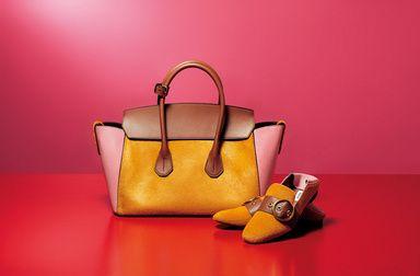 美しい色彩と旬のデザインに心躍る大人の女性が恋するバリーのitバッグ&シューズ