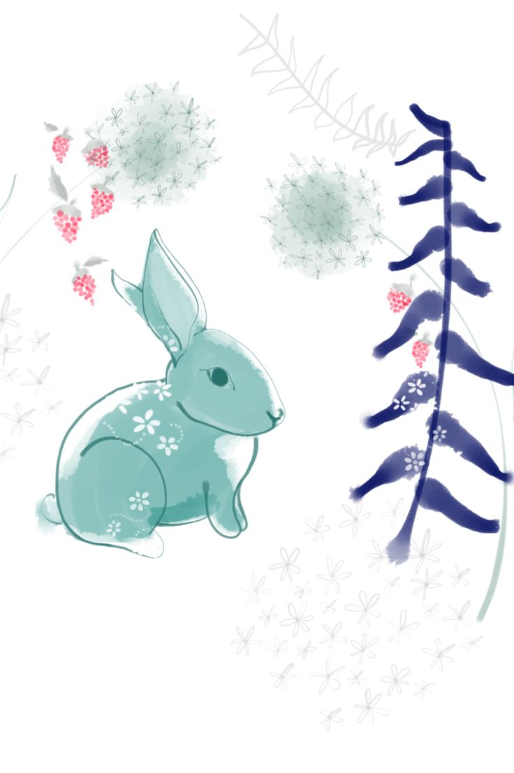 Quick as a Bunny. From the series Forest Friends. Art by Esther Sanchez