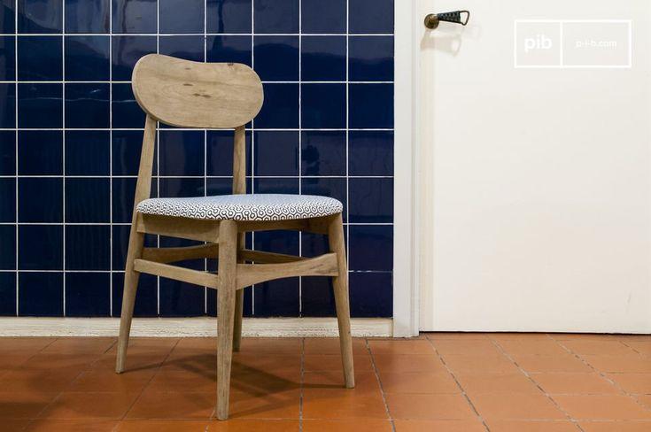 La silla Jotün es una silla vintage que se puede usar en cualquier habitación del hogar.