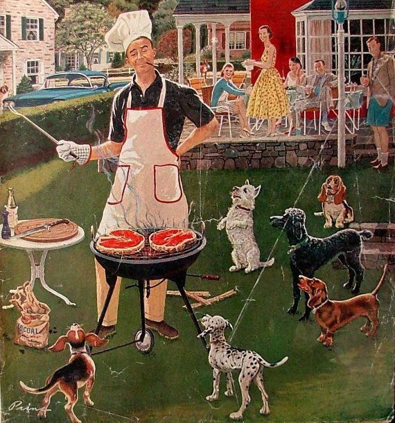 *Hot Dogs...Ben Kimberly Prins (1902 – 1980)