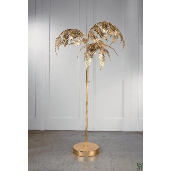 Gold Palm Tree Lamp Tripar International 19750 Gifts For You N Me In 2020 Art Deco Floor Lamp Tree Lamp Unique Floor Lamps