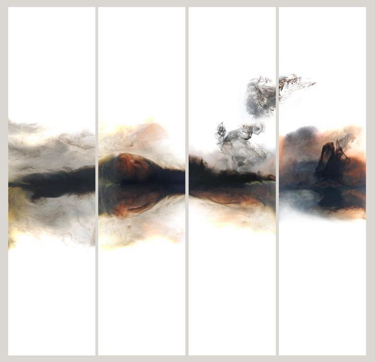 """""""穿越"""" Lu Jun Digital Ink & Wash"""