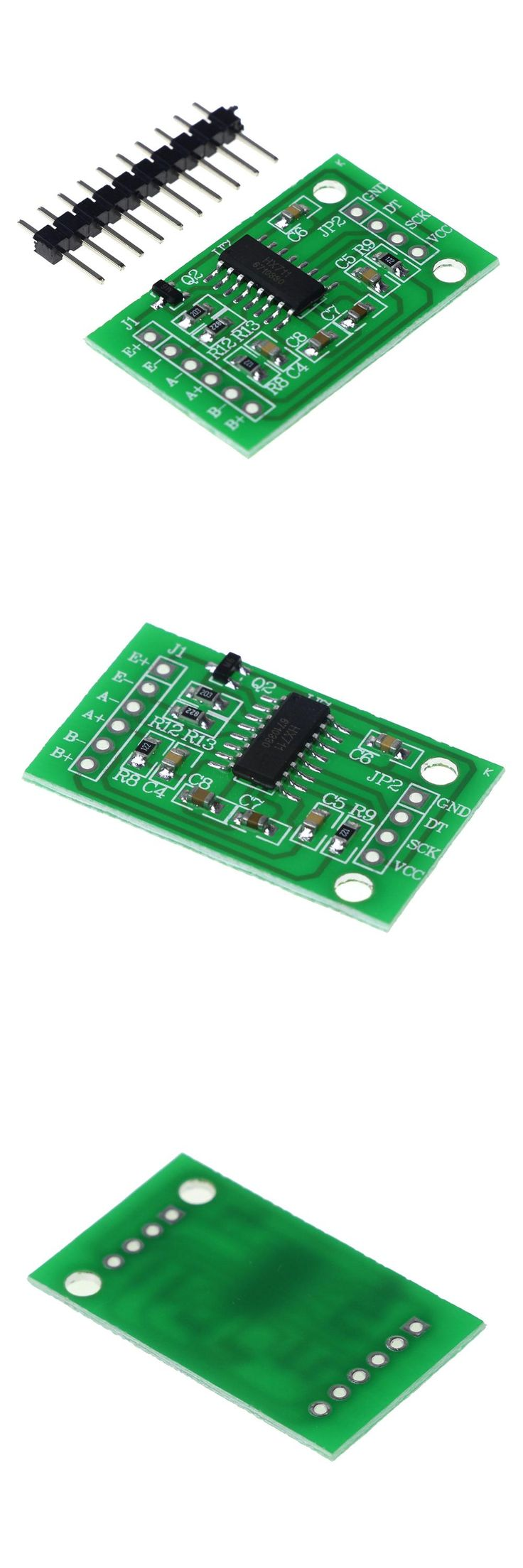 [Visit to Buy] Dual Channel HX711 Weighing Pressure Sensor 24-bit Precision A/D Module For Arduino DIY Electronic Scale #Advertisement