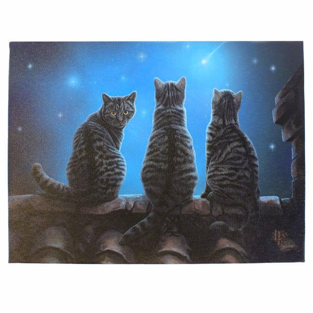gattoso quadretto in canvas Lisa Parker   www.gattosi.com