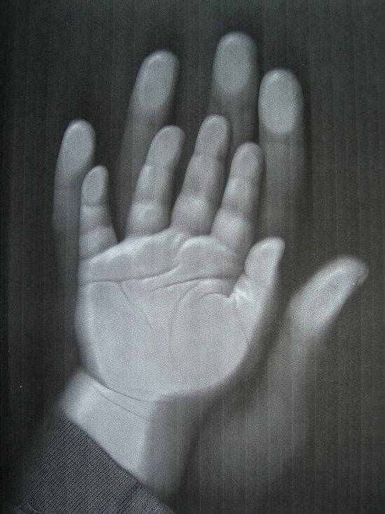 She had the most ingenious idea for memorializing tiny fingers. Its called the copy machine. No more inky smears. No more fists full of paint.. (My mom has in my scrapbook a photocopy of my hands as a toddler, probably taken in the library at church)