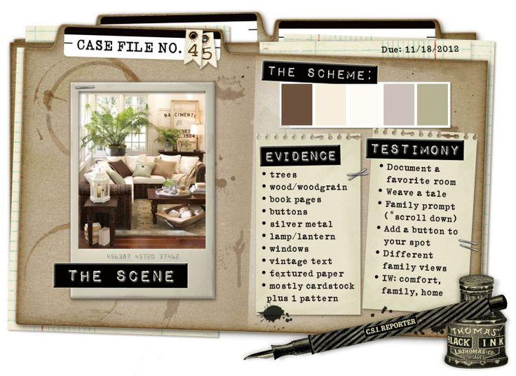 Case File No. 45 {Case closes on November 18, 2012} - CSI: Color, Stories, Inspiration