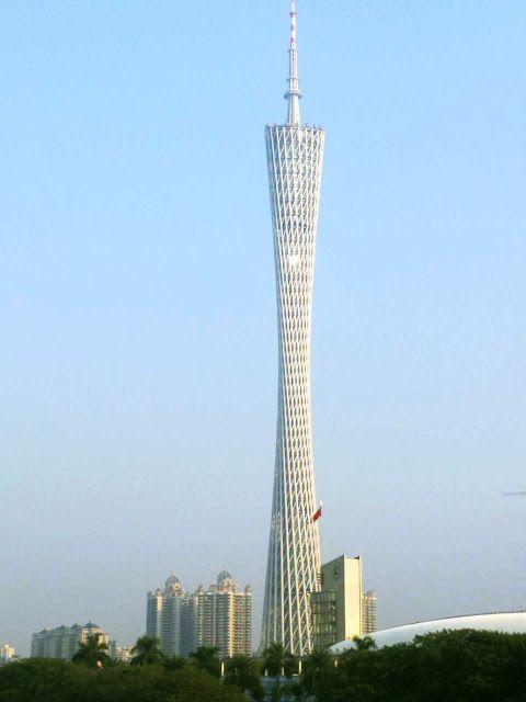 DESCUBRE TU MUNDO: Arquitectura: Canton Tower, China