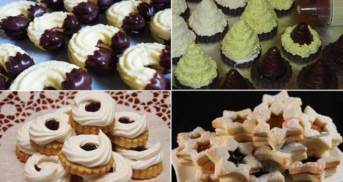 173 besten xmas cakes and cookies bilder auf pinterest. Black Bedroom Furniture Sets. Home Design Ideas