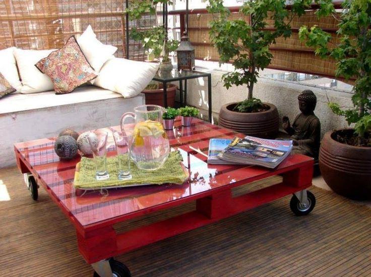 Raklap dohányzó asztal | Fotó: szinesotletek.blog.hu/