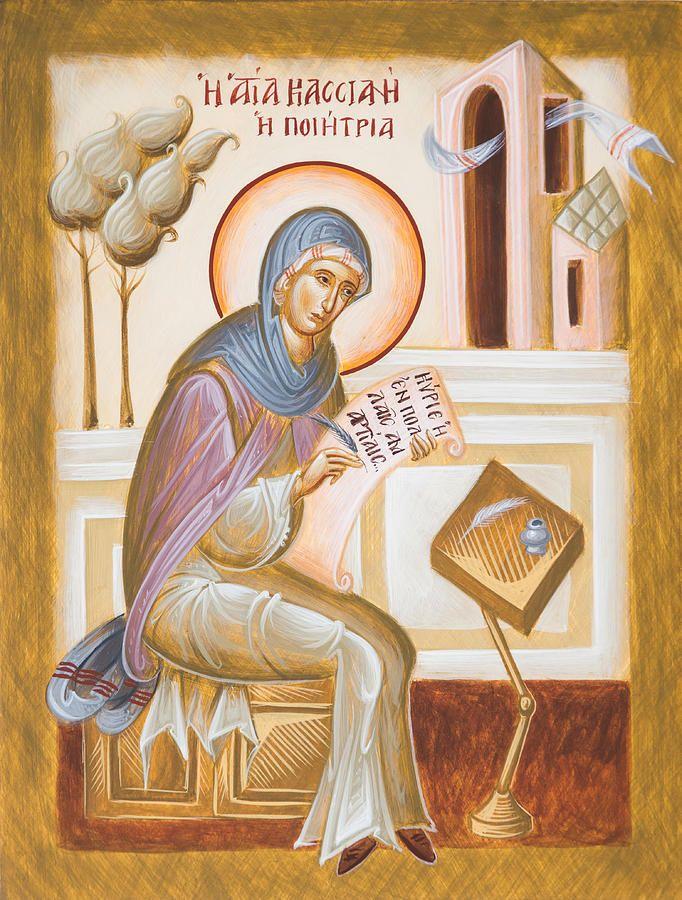 MYSTAGOGY: Saint Kassiani the Hymnographer