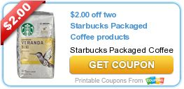 GEt a $3 Starbuck eGift Card. $2.00 off two Starbucks Packaged Coffee products On sale @ Walgreens for $6.99 - buy 2 apply $2 coupon.  Click link for the Starbuck eGift Card:  www.http://enjoysummer.prizelogic.com/
