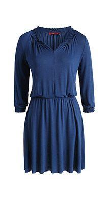 Esprit / Gesmokte jurk