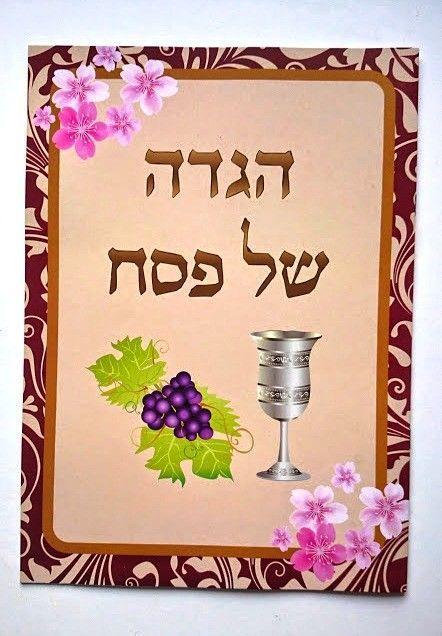 Traditional Hebrew Illustrated Pesach Passover Haggadah Paperback Judaica