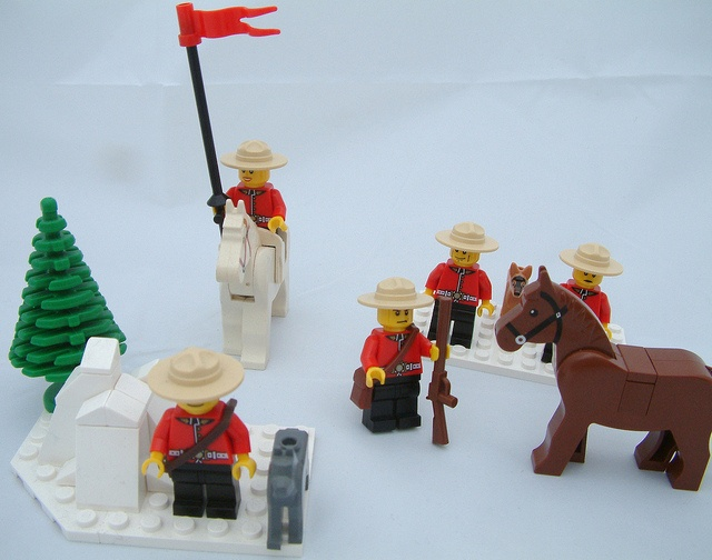 Lego Due South RCMP Mounties! by samradion, via Flickr