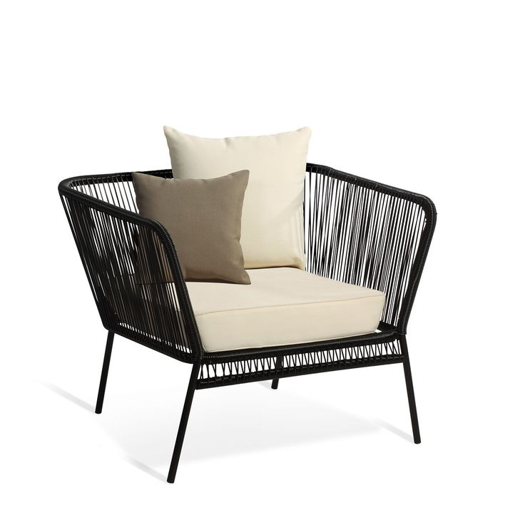 Armchair 1 place with cushions MEXICO (Chairs Design Icon) Acapulco