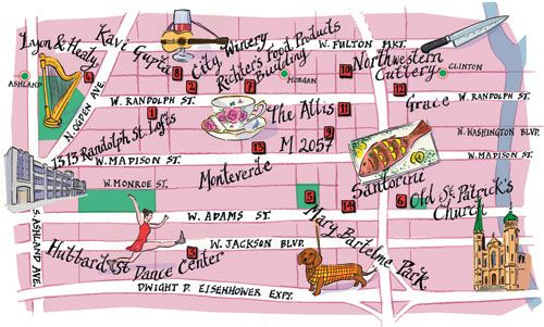 A guide to the West Loop - Chicago.  #chicagoneighborhoods #westloop #chicago