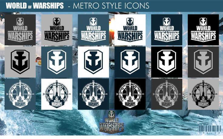 World of Warships - Metro Style Icons by xmilek.deviantart.com on @deviantART