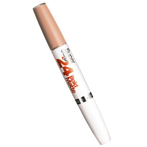 Maybelline Super Stay 24 Hour Wear Bold Matte Lip Colour stretches the limits of longwear. This micro-flex formula glides on and looks gorgeous all day. This 2-step process does not crumble cake fad...