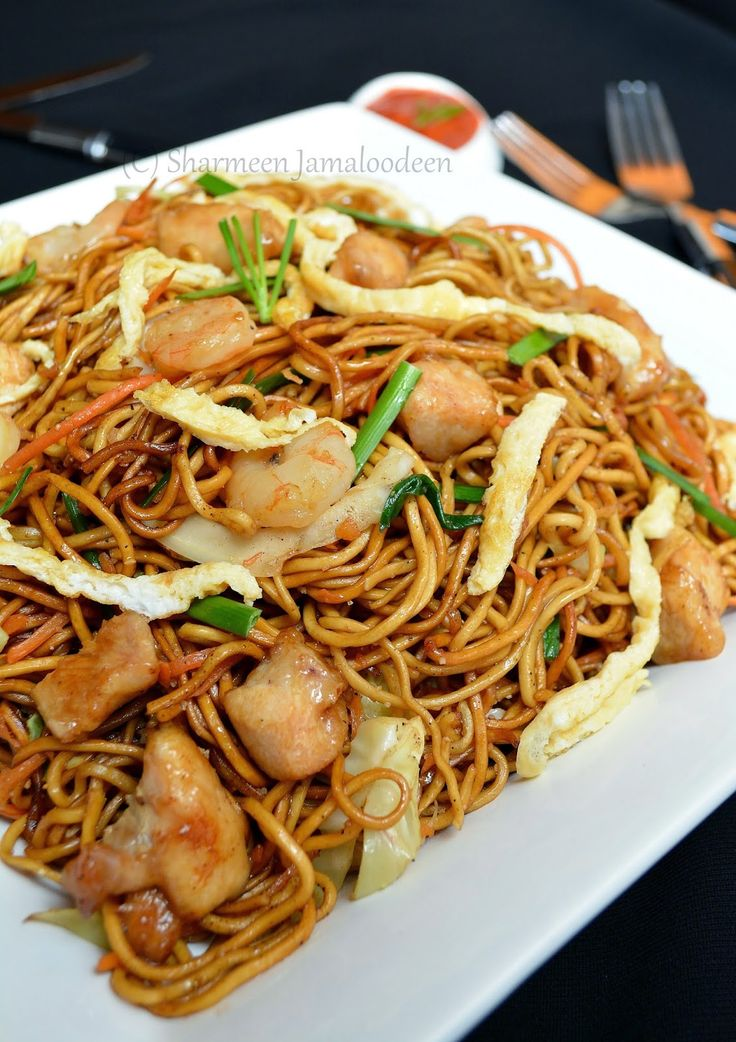 Mauritian Fried Noodles (Mine Frite Special) | Confessions Of A Foodaholic