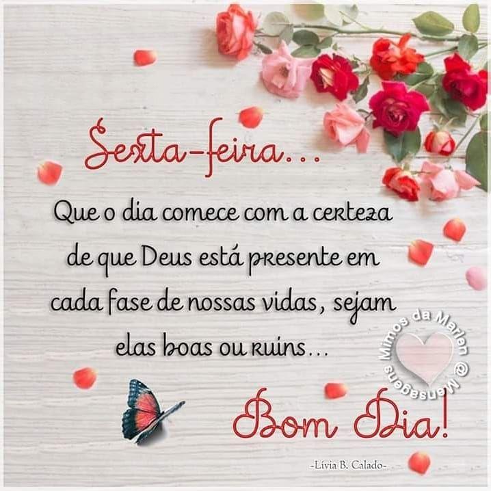 Bom Dia Bomdia Fe Esperanca Paz Gratidao Sextafeira Luz