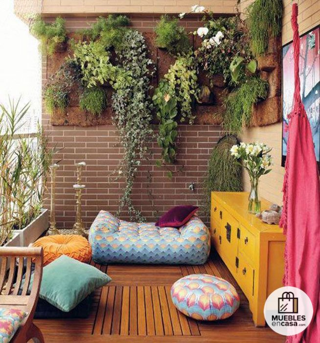decorar un balcn o terraza pequea 13