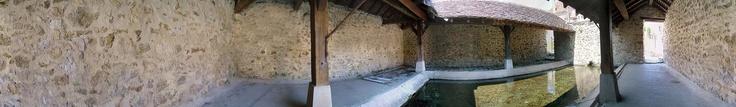 Lavoir d'Auxonnettes à Saint-Fargeau-Ponthierry - 2004