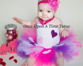 Vestido del tutú del día de San Valentín - chicas tamaño recién nacido 3 6 9 12 18 meses 2T 3T 4T 5 6 7 8... Traje de fiesta de cumpleaños o disfraz de Halloween