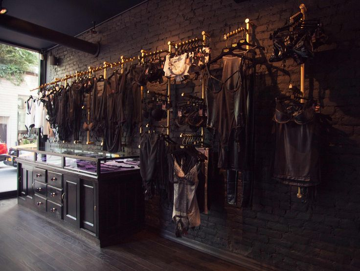 French boudoir meets post-industrial New York loft at the Maison Close flagship store in New York - Soho hottest lingerie shopping spot!