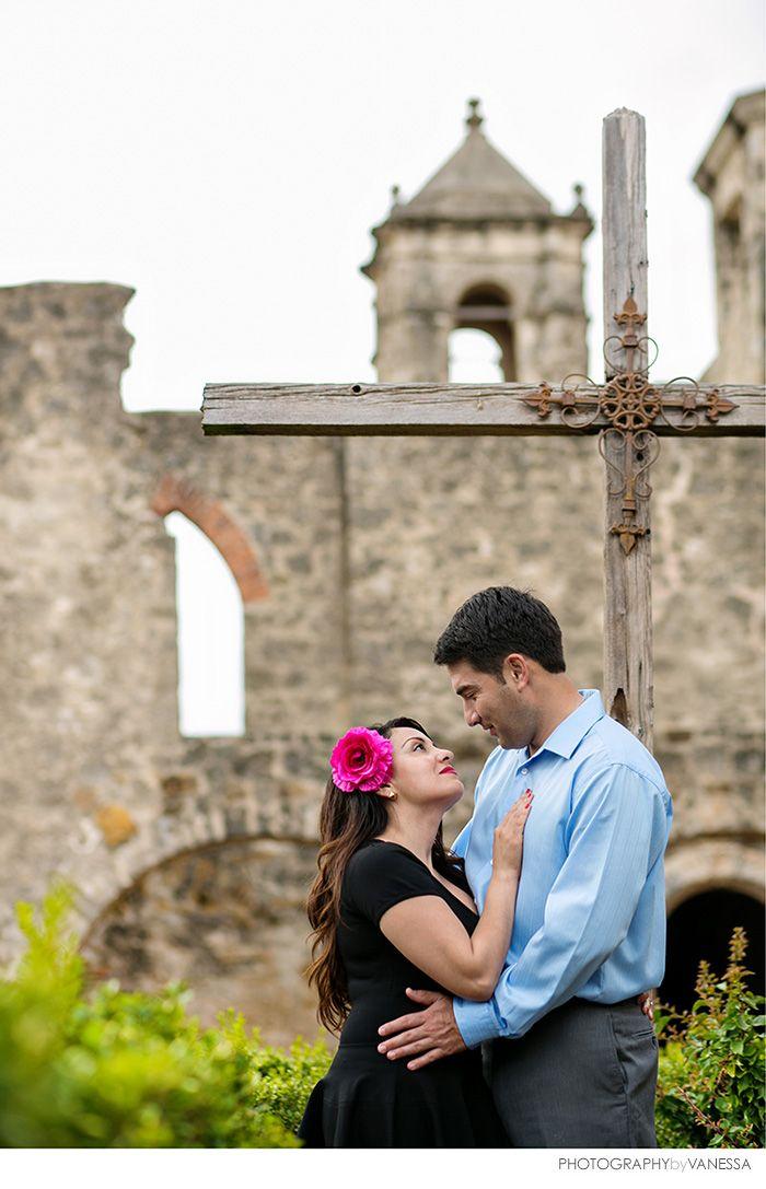 Nydia Albert San Jose Mission San Antonio Family