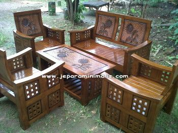 Kursi Tamu Minimalis Jokowi | Jepara Furniture, Furniture Minimalis, Mebel Minimalis