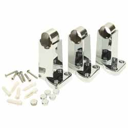 TOWEL RAIL BRACKET AND STRAP KIT CHROME