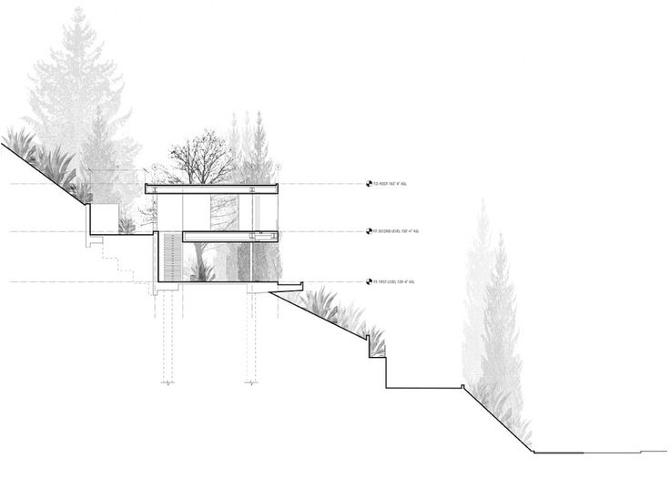 Architecture House Drawing 151 best [ section ] images on pinterest | architecture drawings