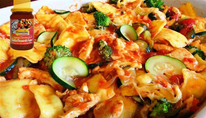 Surinaams eten – Ravioli Trafasie (Surinaamse tomaat chili ravioli met kip en…