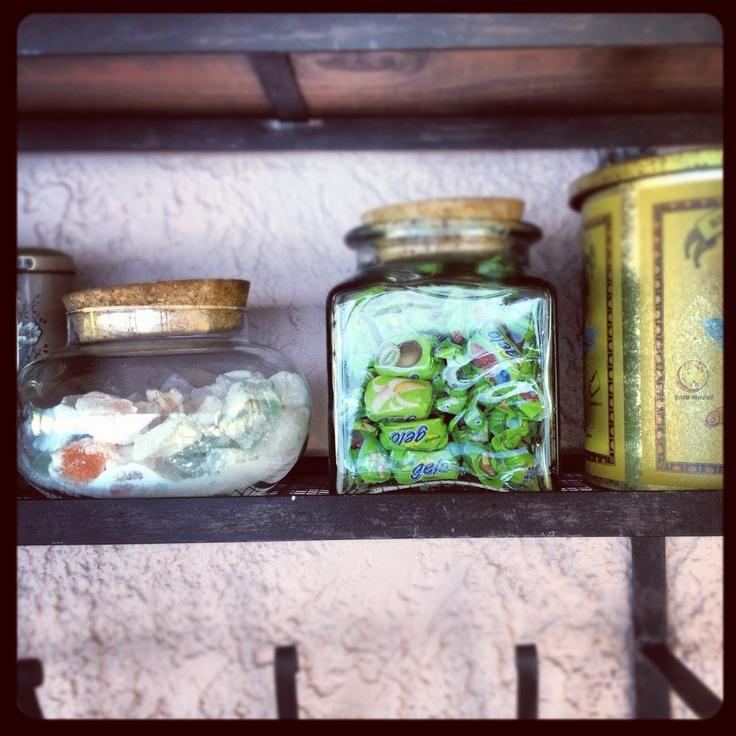 Jars of delight on the island of Kefalonia © Natalie Seldon