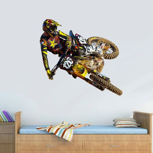 Best 25 dirt bike bedroom ideas on pinterest dirt bike for Dirt bike wall mural
