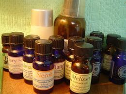 Mix one part lavender or peppermint oil with 2 parts olive, grape seed or sunflower oil and rub into temples, forehead, neck, etc and breathe! Wishing for some of this action now...