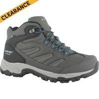 Hi Tec Moreno Wp Mid Hiking Boots - Charcoal/Grey/Black/Mens