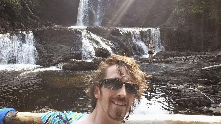 Middle Brook - Glenburnie, Newfoundland  #Swimming #Waterfall #Brook #Newfoundland