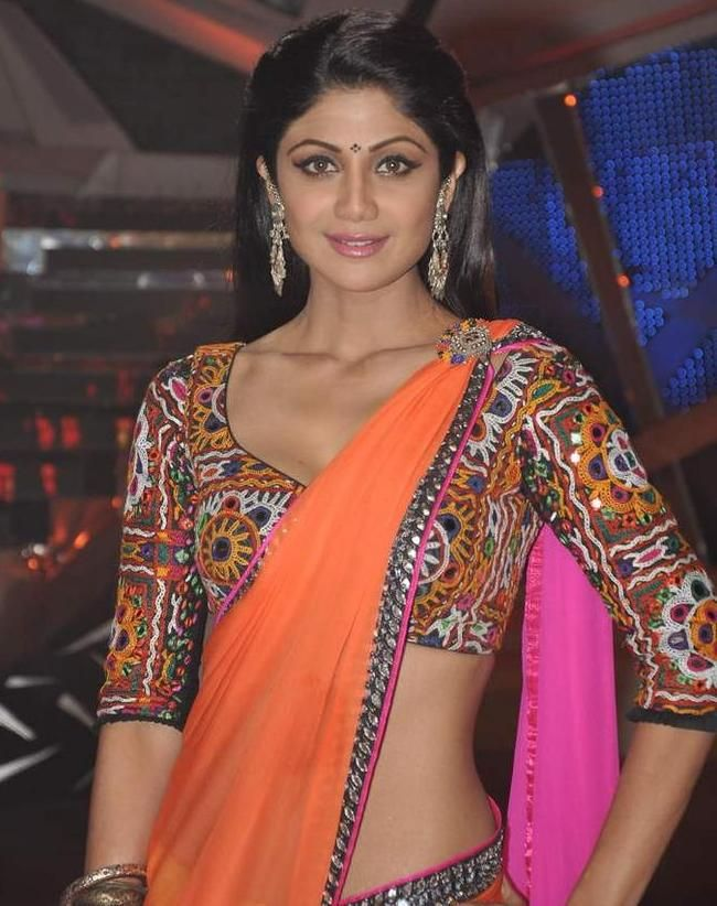 c7916b01f8d7a Kutchi Blouse made from Traditional Kutch Work Embroidery Design Material  worn by Bollywood Actress Shilpa Shetty Kutch Work Blo…