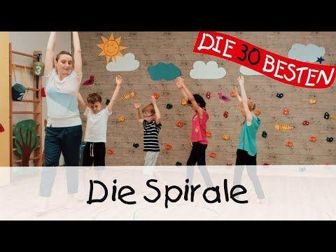 Die Spirale - Yoga Bewegungslieder für Kinder II Kinderlieder - YouTube